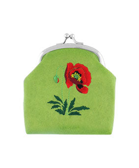 Embroidered Coin Purse/ Small Pouch