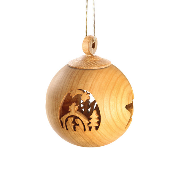 Wooden  Baubles