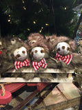 Sloth ornaments