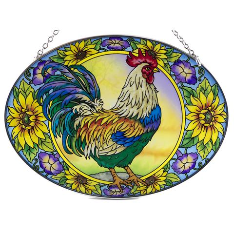 Country Charm Rooster Sun Catcher
