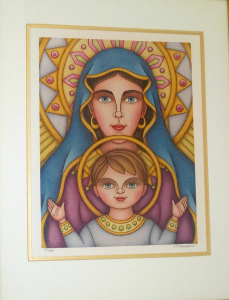 Christina Senkiw Virgin Mary and Jesus