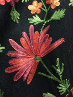 Crewel Embroidered Wool Jacket