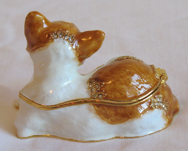 Enammeled Animal Jewelry Boxes