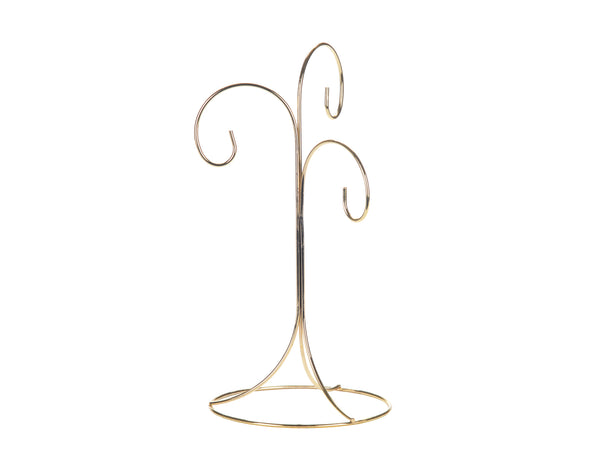 Gold Ornament Stand