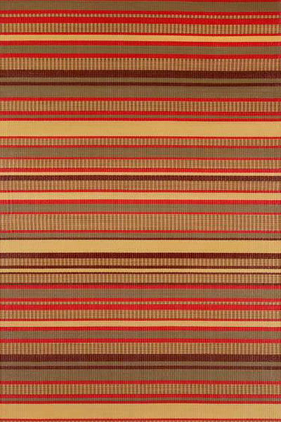 Mad Mats® Stripes Warm Brown
