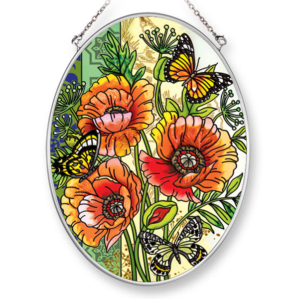 Commendation Poppy Suncatcher