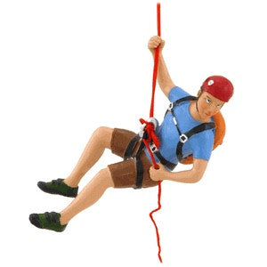 Rock Climber Ornament