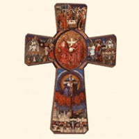 Wooden Icon  Cross