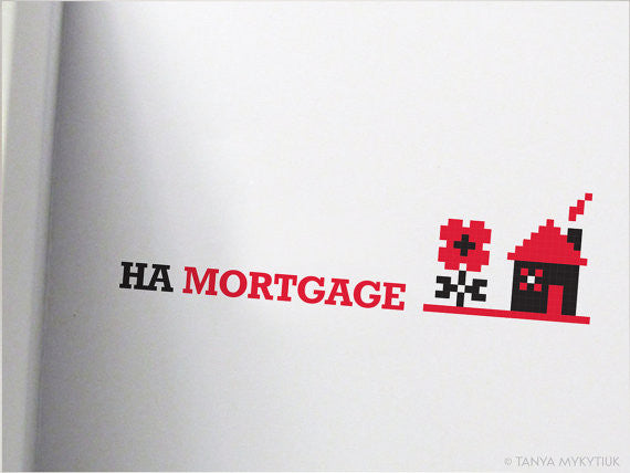 Na Mortgage Wedding Card w/pocket