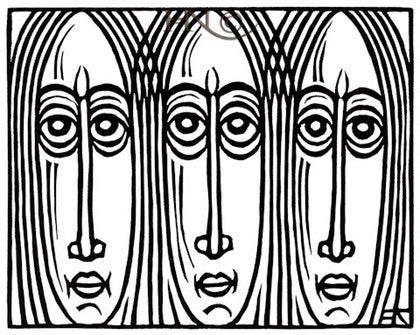 Three Faces 014