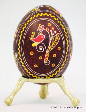 Single Gold Egg Stand