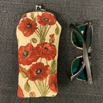 Tapestry Eye Glass Pouch