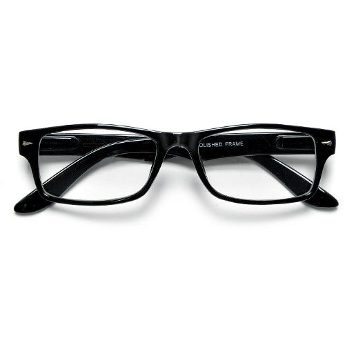 Rectangular Clear Lens Casual Eyewear Glasses - Sunglass Spot