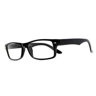 2 Pack Rectangular Clear Lens Casual Eyewear Glasses - Sunglass Spot