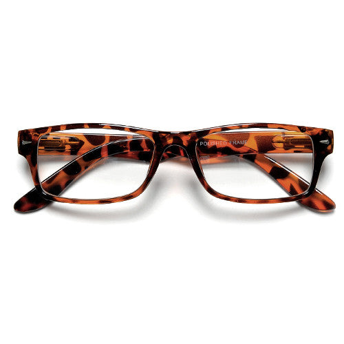 Rectangular Clear Lens Casual Eyewear Glasses