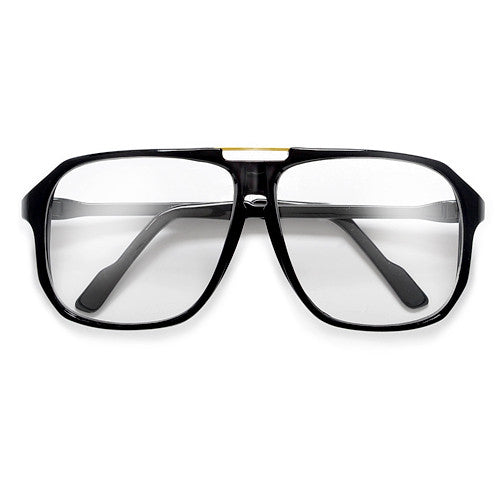 05dbb70b05 62mm Retro Square Clear Lens 70 s Style Eyewear Glasses - Sunglass Spot