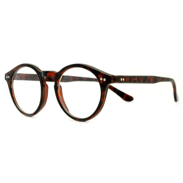 Vintage Round P3 Frame Clear Readers