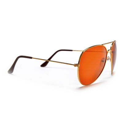 Color & Clarity Enhancing Classic 60mm Aviator Sunglasses
