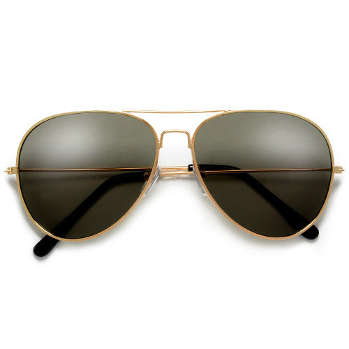 Classic 60mm Tear Drop Aviator with G-15 UV400 Lens