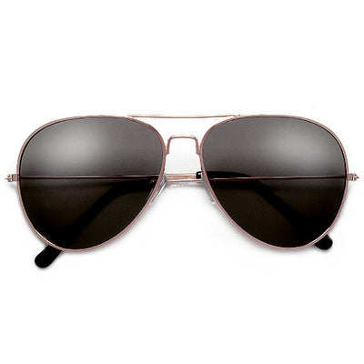 Classic 60mm Tear Drop Aviator with G-15 UV400 Lens - Sunglass Spot