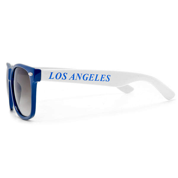 Los Angeles Blue Crew Classic Wayfarer Sunglasses