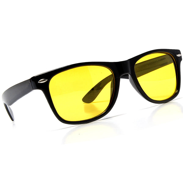 Functional Night Driving Lens Classic Wayfarer Sunglasses