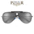 Premier Collection-Modern Flat Lens Tear Drop Bullseye Aviator