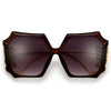 Oversize Showstopping Butterfly Sculpted Sunnies - Sunglass Spot