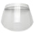 FULL COVERAGE WRAP AROUND ANTI-FOG SAFETY PROTECTIVE FACE SHIELD WHITE