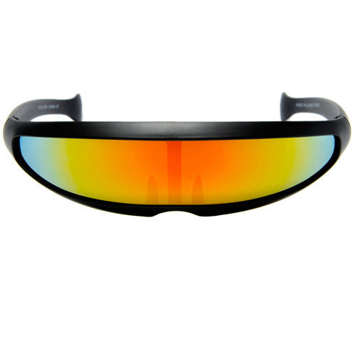 Visor Shield Futuristic Cyclops Costume Party Shades