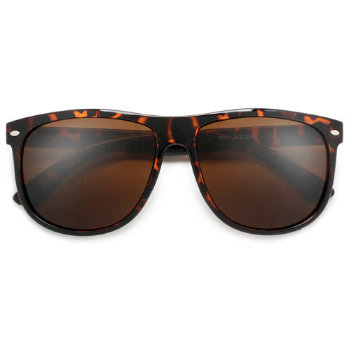 Oversize 59mm Modified Classic 80's Sunglasses - Sunglass Spot