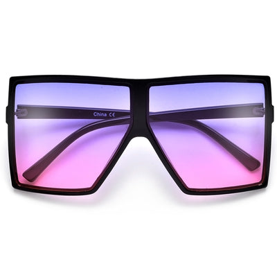 Flat Top Super Size Sunnies - Sunglass Spot
