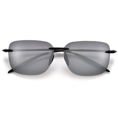 Extremely  Lightweight  Rimless TR-90 Performance Sunglasses