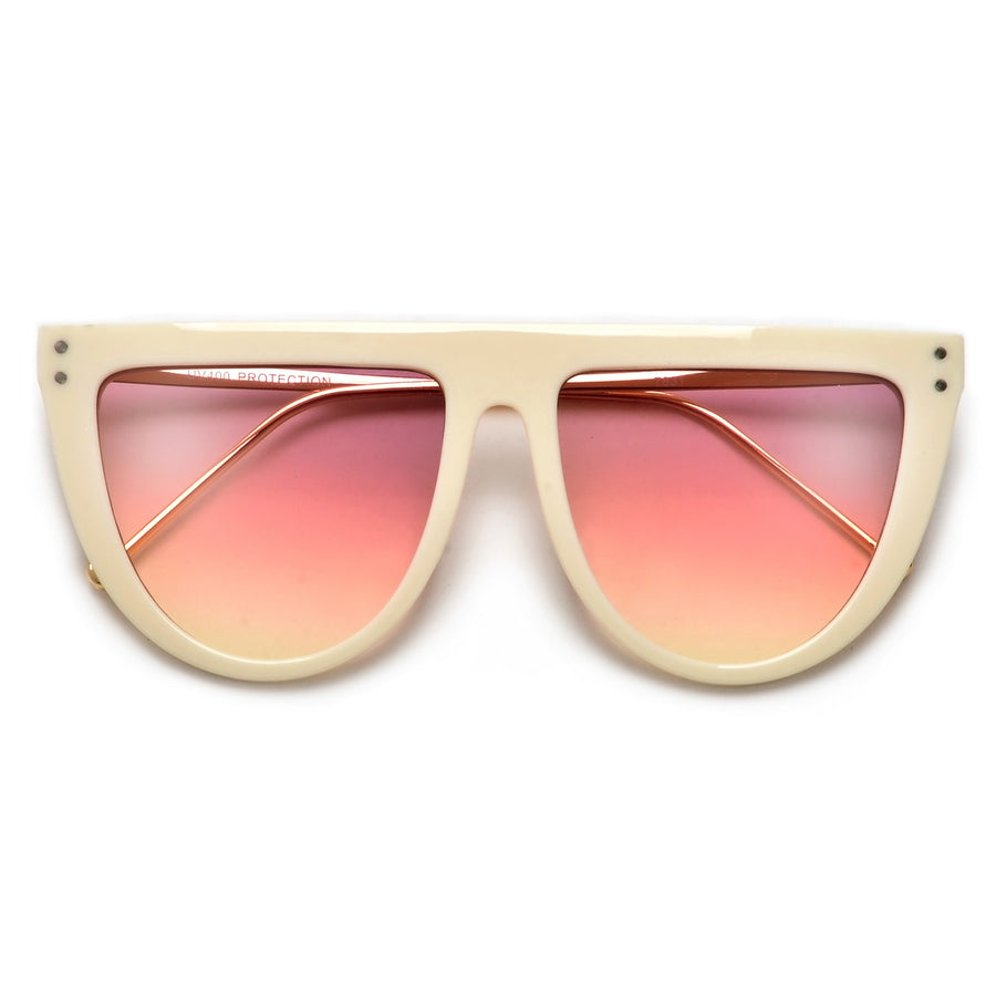 Flat Top Modern Minimalist Fashion Sunnies
