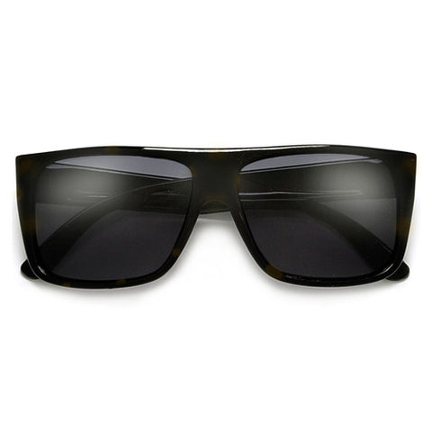 50mm Square Metal Trim Modern Glam Sunglasses