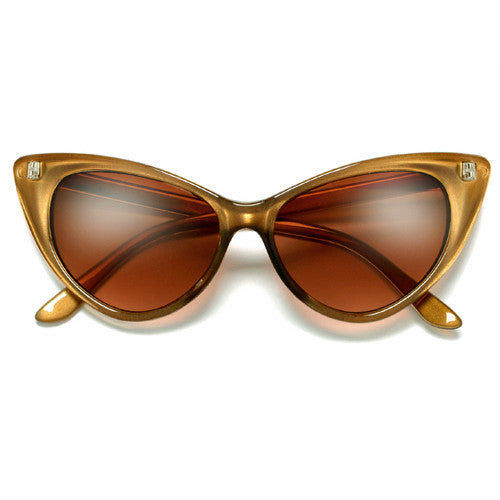 Designer Inspired Super Cat Eye MOD Fashion Sunglasses
