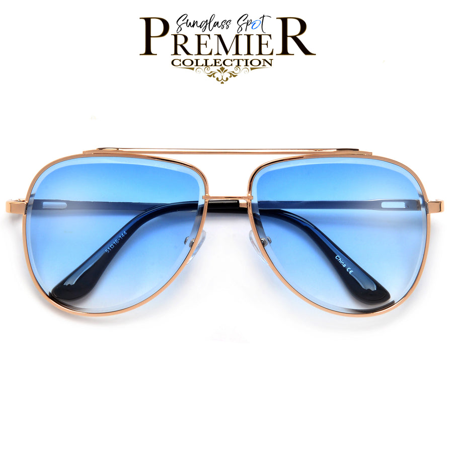 PREMIER COLLECTION-MODER3989HIGH FASHION BEVELED AVIATOR