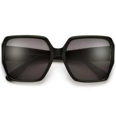 Bold Angular Mod Appeal Sunglasses - Sunglass Spot