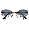 CRYSTAL RAIN DROP IRRESISTIBLE RIMLESS WATER DROPLET SUNNIES - Sunglass Spot