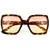 Oversize Womens Squared Sunnies