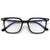 Stylish Flat Top Blue Light Blocking Eyewear