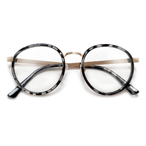 Ultra Modern Sophisticated Clear Lens P3 Frame High Fashion Glasses