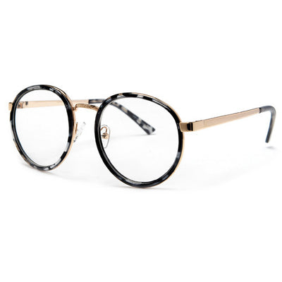 Ultra Modern Sophisticated Clear Lens P3 Frame High Fashion Glasses - Sunglass Spot