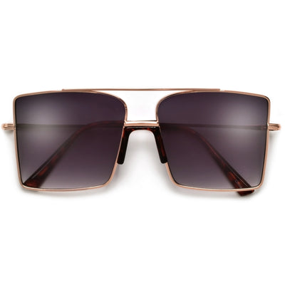 Slim Angular Retro Glam Sunnies - Sunglass Spot