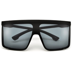 Sleek Modern Arrow Temple Cut-Out Frame Retro Chic Sunnies