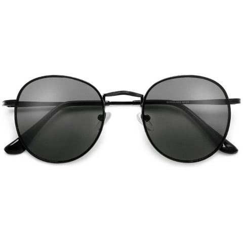 Classic Round P3 Full Metal Frame Sunglasses
