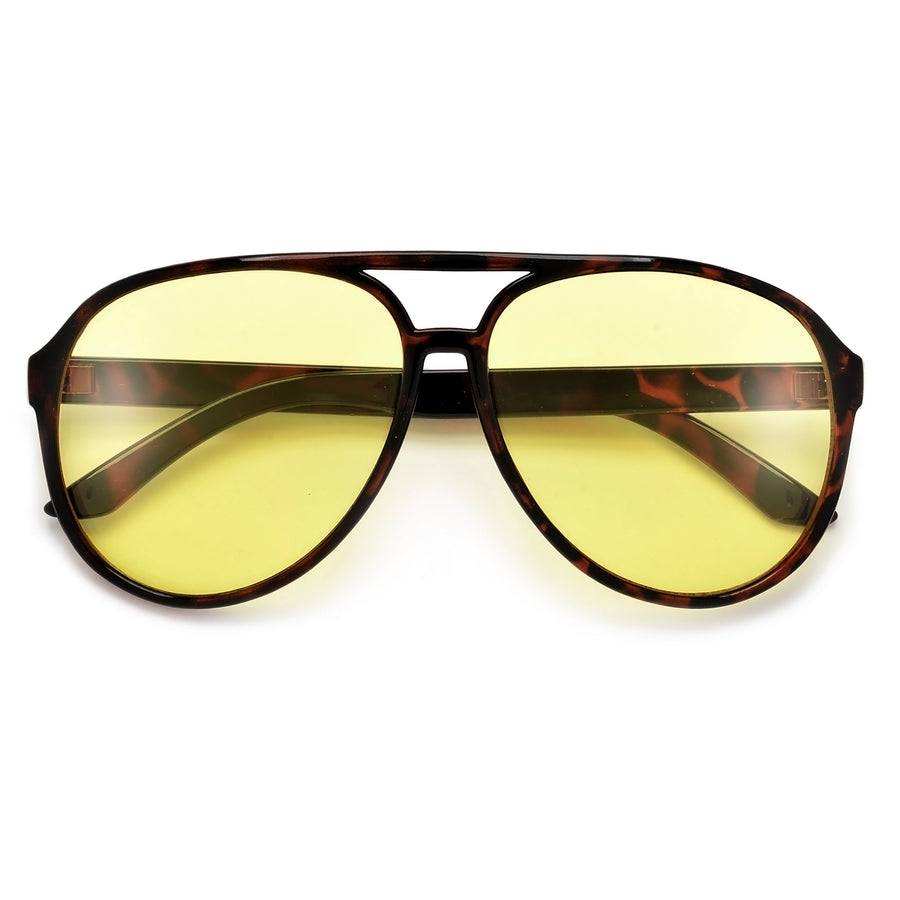 70's Inspired Night Driving Lens Aviator