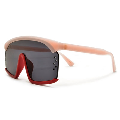 Futuristic 140mm Street Style Shield Sunglasses - Sunglass Spot