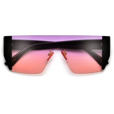 Sleek and Sporty Summer Shields - Sunglass Spot