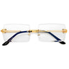 Rimless High Fashion Sunnies - Sunglass Spot